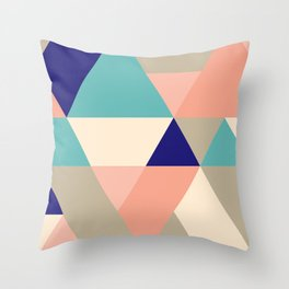 Sand and Shore Throw Pillow