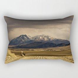 Mountain Road Photograph Rectangular Pillow