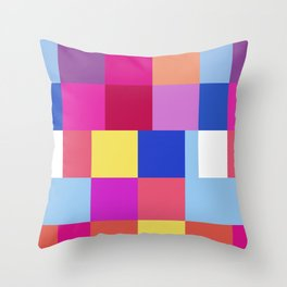 Chat C Throw Pillow
