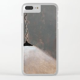 *( soupirs / *( sighs Clear iPhone Case