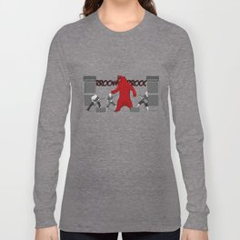 Growly Bear Metal Long Sleeve T-shirt