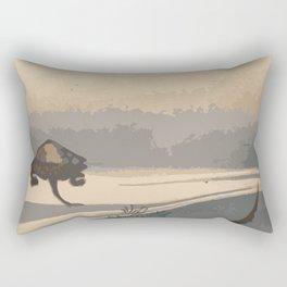 Japan Art, Turtles Rectangular Pillow