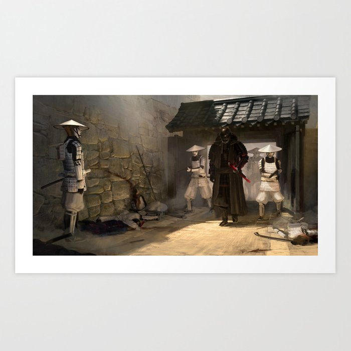 Lord Vader and his troops Art Print