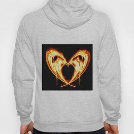 Burning Heart Hoody