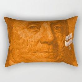 Benjamin Dark (orange light) Rectangular Pillow