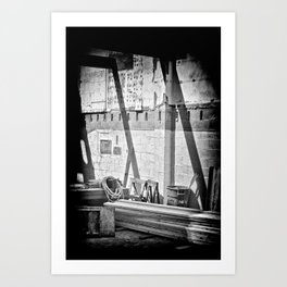 Beams Art Print