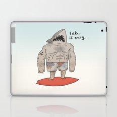 Surf Shark Laptop & iPad Skin