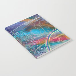 dreaming in color Notebook
