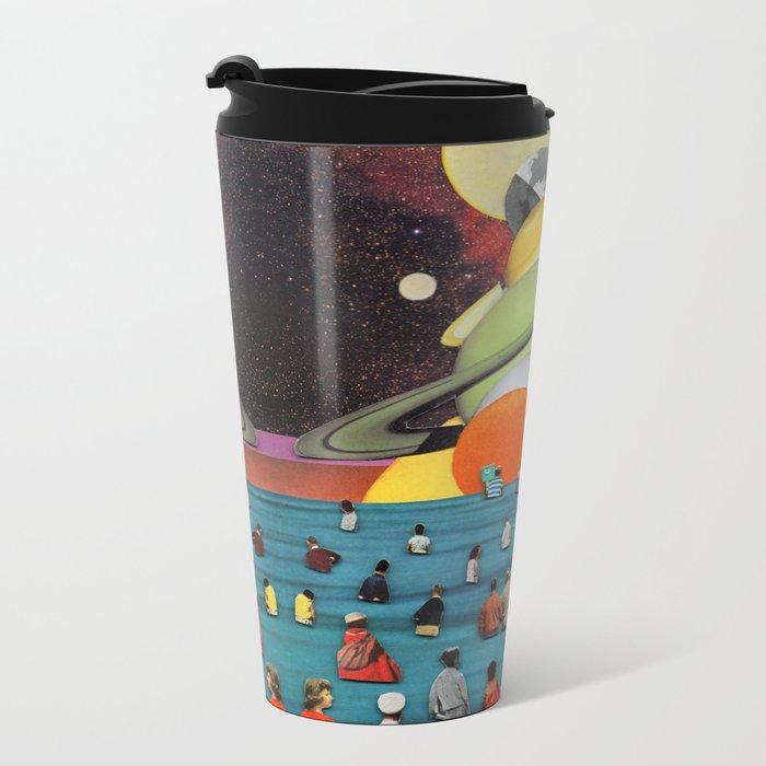 Children of the Sun and Moon Metal Travel Mug