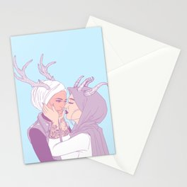 my love, you and i Stationery Cards