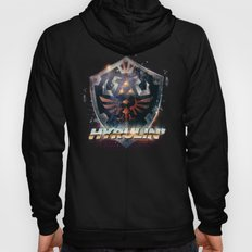 Yeah she sees my Hyrulin' - 80's Legend of Zelda Shield Hoody