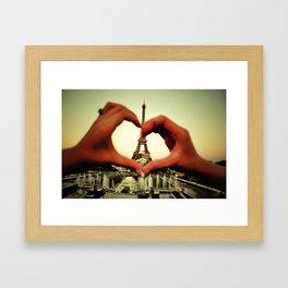 Je t'adore Framed Art Print