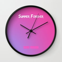 Magic Moments - Summer Forever Wall Clock