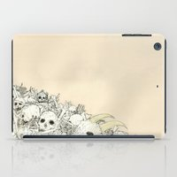 bones iPad Cases featuring Bones by Jess Worby