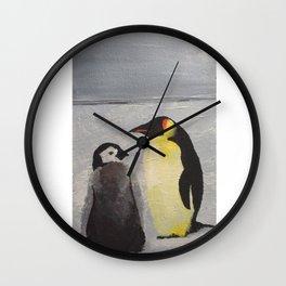 Little pingouin Wall Clock