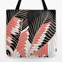 Oriental Palm Riddle Tote Bag