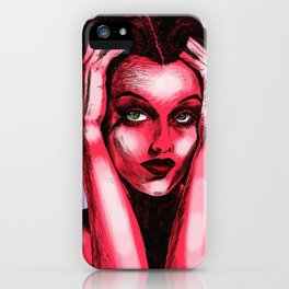 Pop Art Hedy iPhone Case