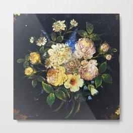 Vintage Flowers 2 Metal Print