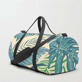 Tropical Leaves Duffle Bag