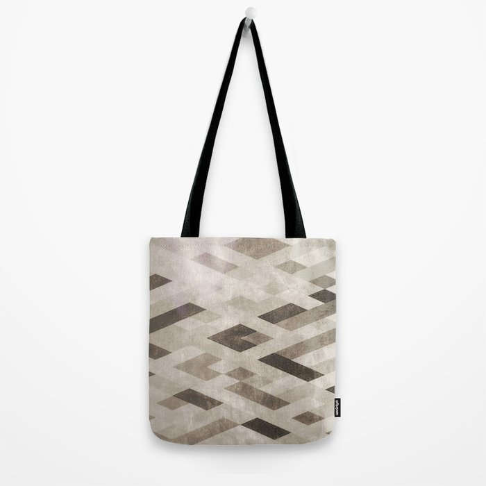 Abstract Pattern in Subtle Tote Bag