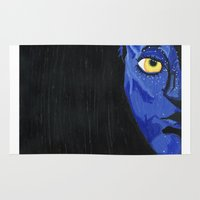 avatar Area & Throw Rugs featuring Avatar by Paxelart