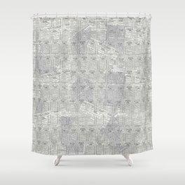 Brand Pattern Shower Curtain