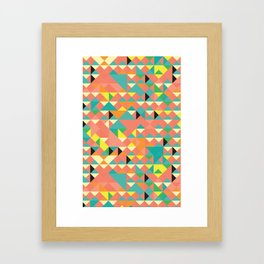 It's Geometric Framed Art Print