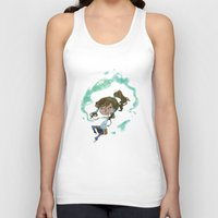 korra Tank Tops featuring Chibi Korra by Serena Rocca