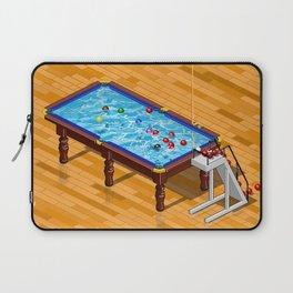 it`s Not Pool it`s Snooker Laptop Sleeve