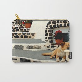 Santorini Stray Carry-All Pouch