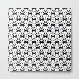 Pure Panda Metal Print