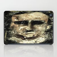 edgar allan poe iPad Cases featuring Edgar Allan Poe by Anso Strange