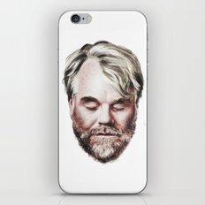 Philip Seymour Hoffman Portrait iPhone & iPod Skin