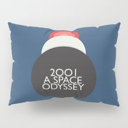 2001 a Space Odyssey, Stanley Kubrick alternative movie poster, dark blue  classic film, cinema love Pillow Sham