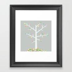 Graphic Tree  Framed Art Print