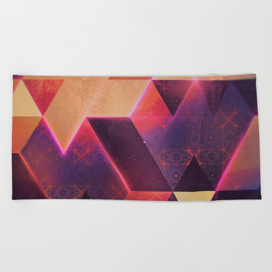 wyll fyll Beach Towel