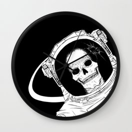 Welcome To Lunar Industries Wall Clock