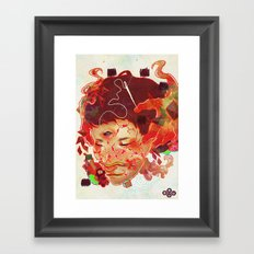 Every Inch Framed Art Print