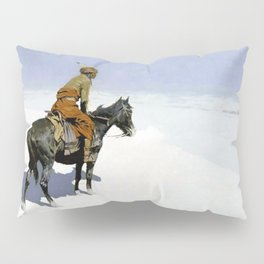 "Frederic Remington Western Art ""The Scout"" Pillow Sham"