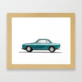 Lancia Fulvia Framed Art Print
