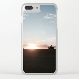 ~Not enough time~ Clear iPhone Case