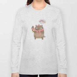 Icecream Bear Long Sleeve T-shirt