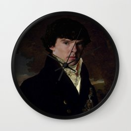 Prince Sherlock Wall Clock