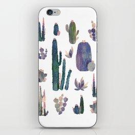 Watercolor Catus iPhone Skin