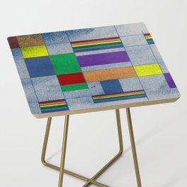 Mid-Century Modern Art - Rainbow Pride 1.0 Side Table