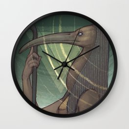 Thoth the Magician Wall Clock