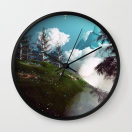 Cloud of Unknowing Wall Clock