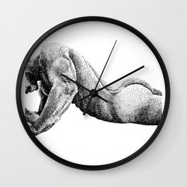 Paolo - 3 - Nooddood Wall Clock
