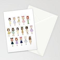 Princess Bounding Stationery Cards