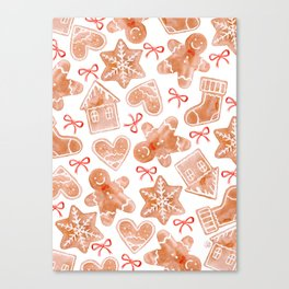 Gingerbread Canvas Print
